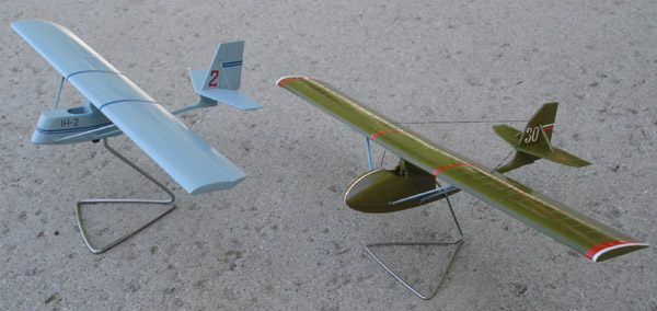 # antp800 Rare Antonov gliders IH-2 and IH-4 1