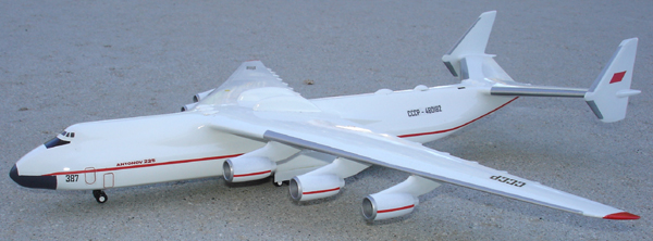 # antp085 Antonov-225 Mriya factory model on wheels 1