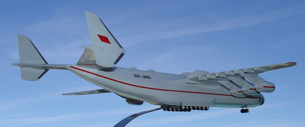 # antp085 Antonov-225 Mriya factory model on wheels 5