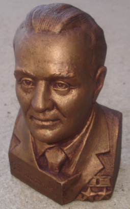 # sscp096 Founder of Cosmonautics S.Korolev bust 1