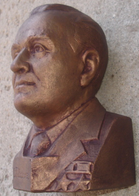 # sscp096 Founder of Cosmonautics S.Korolev bust 3