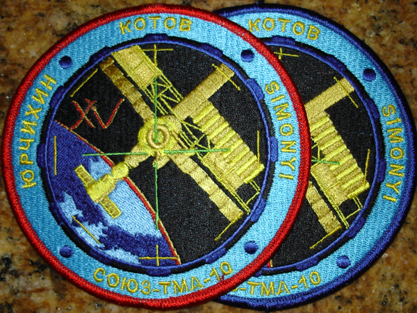 # spp086 Soyuz TMA-10 patches 1