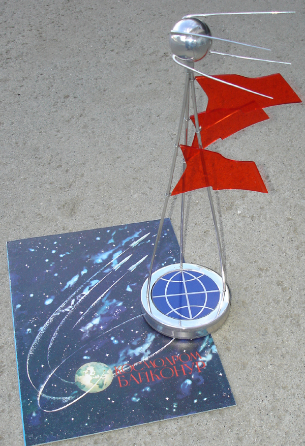 # spt299 SPUTNIK 30 years presentation model with diploma 2