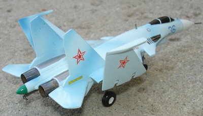 # zhopa021 Su-33 Sukhoi Naval Fighter 5