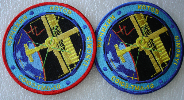 # oc098 Soyuz TMA-10 patches 1