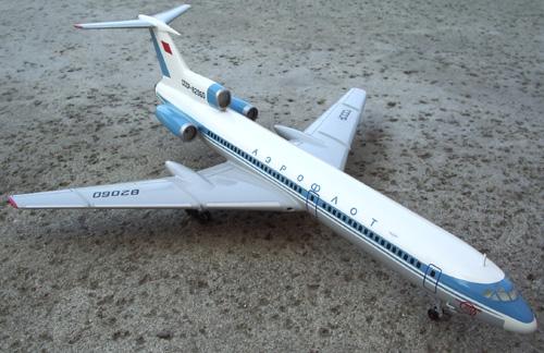 # tp096            Tupolev Tu-154 Classic Aeroflot 1/100 1