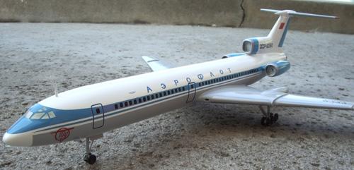 # tp096            Tupolev Tu-154 Classic Aeroflot 1/100 2