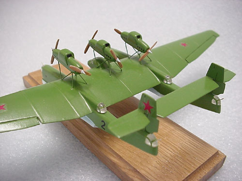 # tp100            ANT-22 twin-hulled flying boat 1/200 scale model 2