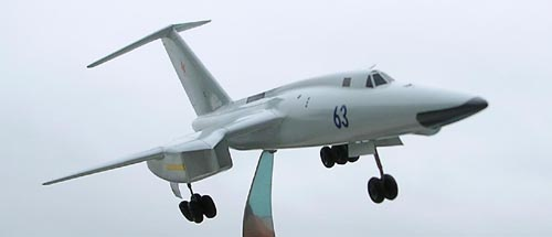 # tp208            Tu-106-2 project 4 -engines bomber 2