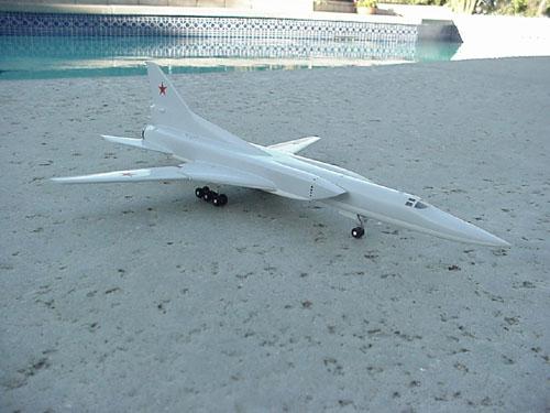 # tp200            TU-22M3 `Backfire` bomber model. 1
