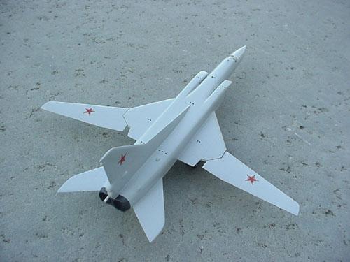 # tp200            TU-22M3 `Backfire` bomber model. 2
