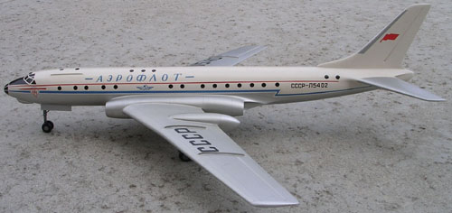 # tp097            Tu-104 old Tupolev model 1
