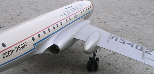 # tp097            Tu-104 old Tupolev model 5