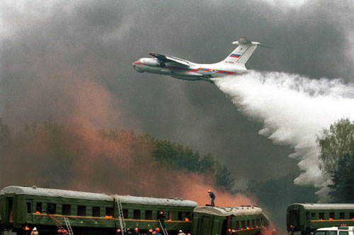 # ip088            Il-76TD Waterbomber fire-killer 5