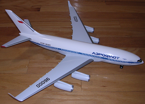 # ip087            Il-96-300 Ilyushin factory 1/100 model 1