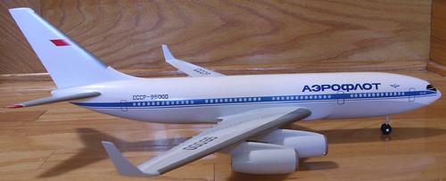 # ip087            Il-96-300 Ilyushin factory 1/100 model 2