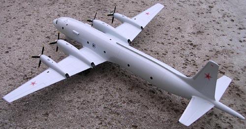# ip120            Il-38 Ilyushin antisubmarine aircaft 3