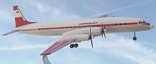 # ip101            Il-18 Arctic Aeroflot Ilyushin model 1