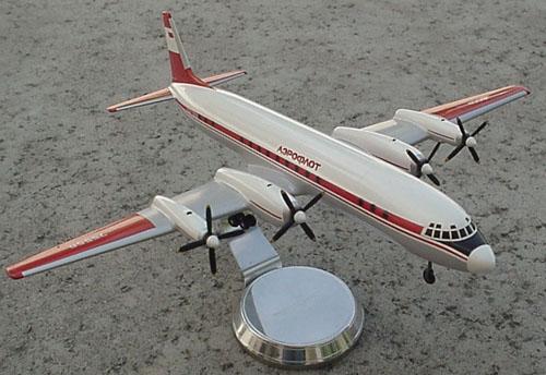 # ip101            Il-18 Arctic Aeroflot Ilyushin model 2