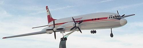 # ip101            Il-18 Arctic Aeroflot Ilyushin model 3