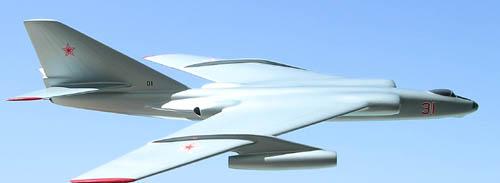 # myp119            M-31 Myasishchev project bomber 2