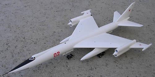 # myp129            M-50-1 variant opf Myasishchev supersonic bomber 1