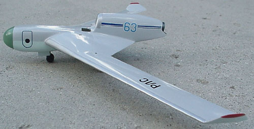 # myp160            M-67 LK-M `Bumerang` high altitude spy plane 2