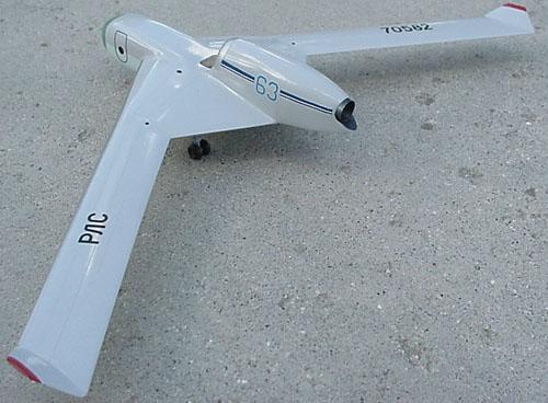 # myp160            M-67 LK-M `Bumerang` high altitude spy plane 3