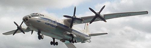 # antp108            An-10 Ukraina passenger airliner 1
