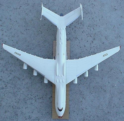 # antp149            An-225 big promotional Antonov model 4