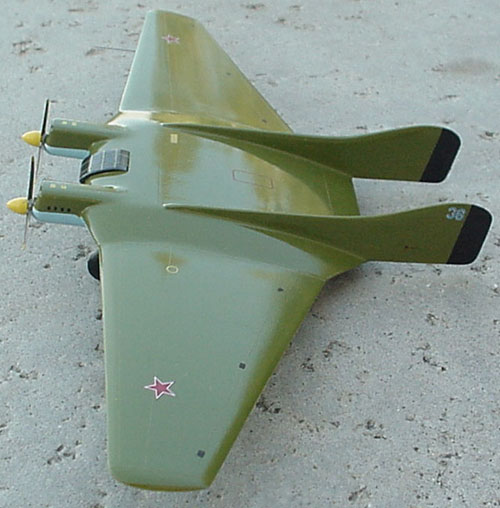 # op159            Stal-5 A.Putilov Flying wing aircraft 3