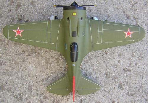 # ww097            I-16 Polikarpov fighter 3