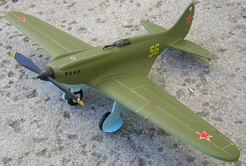 # ww098            I-17 fighter of Polikarpov 1