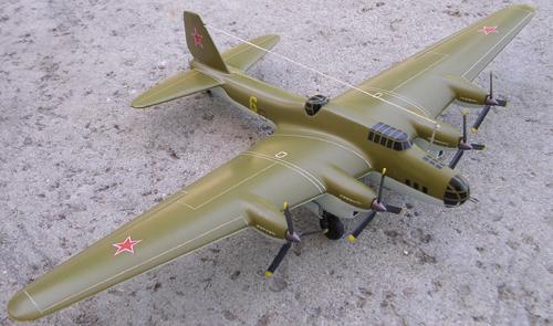 # ww099            PE-8 (ANT-42, TB-7) heavy bomber 1