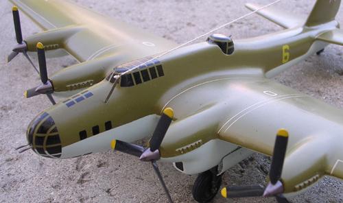 # ww099            PE-8 (ANT-42, TB-7) heavy bomber 2