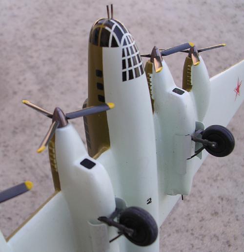 # ww099            PE-8 (ANT-42, TB-7) heavy bomber 4