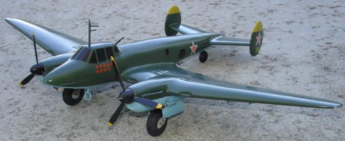 # ww093            Pe-2 Petlyakov diving bomber 2