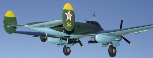 # ww093            Pe-2 Petlyakov diving bomber 4