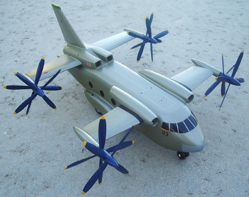 # ep070a            Be-32 VTOL project 3