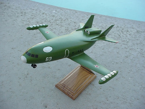 # xp140            M-12 VVP Myasishchev VTOL experimental aircraft model 1