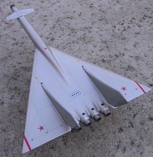 # ep079            Tu-135 supersonic strategic bomber project model 3