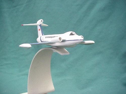 # zhopa301            S-90 Sukhoi ekranoplane project model 2