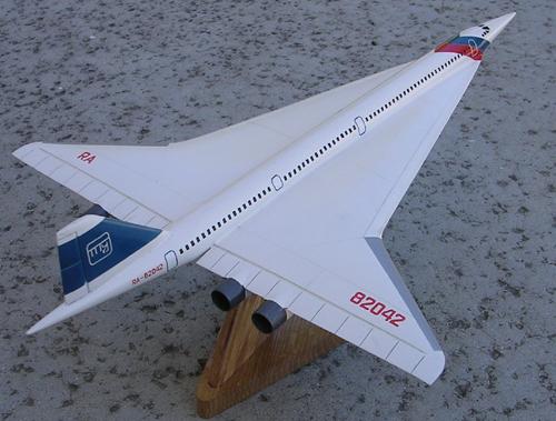 # zhopa063            Tu-244 Tupolev 2nd Generation SST project 3