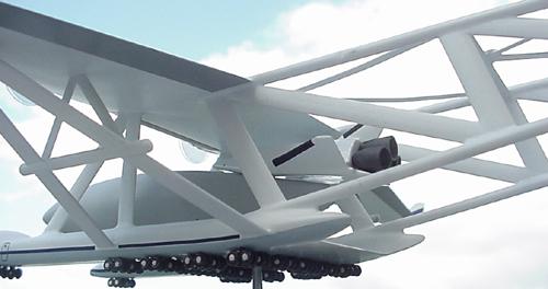 # zhopa144            M-90 Myasishchev with shuttle Maks variant-1 4