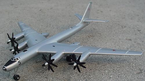 # zhopa101            Tupolev TU-95 `Bear` bomber 1