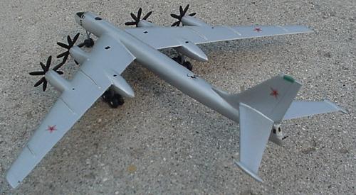 # zhopa101            Tupolev TU-95 `Bear` bomber 2