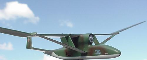 # zhopa096            BVS-M-62 `Orel` spy plane project of Myasishchev 2