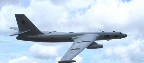 # zhopa070a            Aircraft-28 variant-2 Myasishchev bomber 3