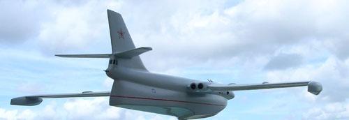 # zhopa071            Myasishchev 3M-M hydro-plane bomber project 5