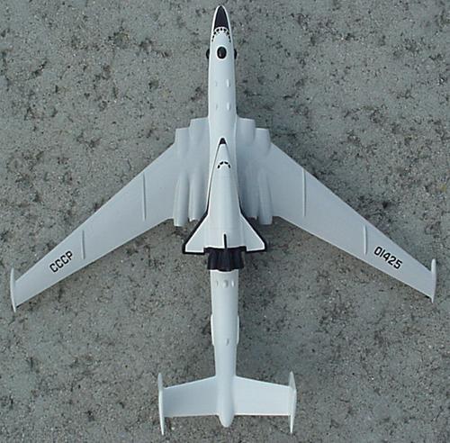 # zhopa154            Myasishchev 3M-T/VM-T Atlant with Maks shuttle 5